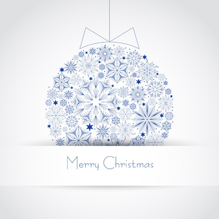 Christmas ball illustration Stock Vector - 16843236