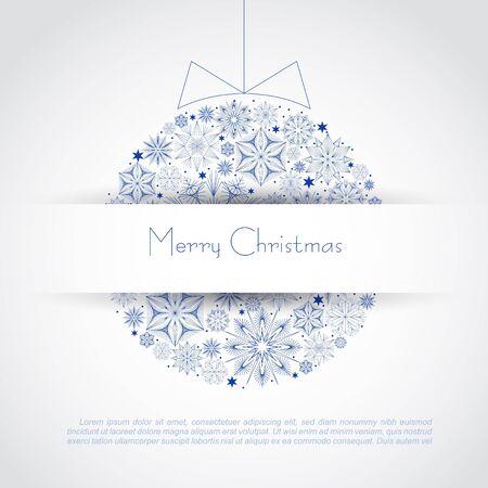 Christmas ball illustration Stock Vector - 16843240