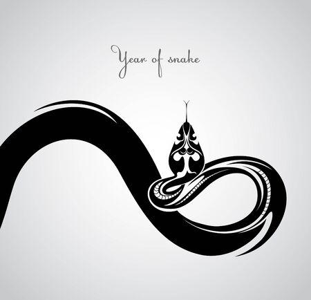 Snake  Symbol 2013  Vector
