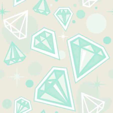 adamant: seamless - brilliant pattern