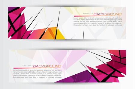Abstract header  Vector  Stock Vector - 17772091