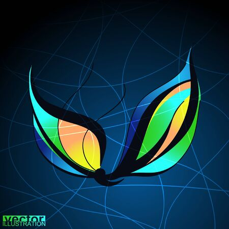decorative butterfly Stock Vector - 20761861