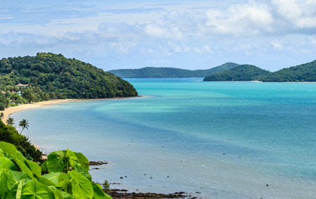 beach from kaokhad viewpoint, Phuket, Thailand Stock Photo