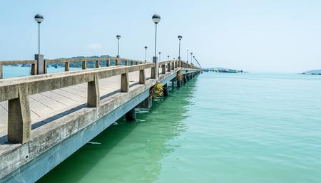 ka: Ao Po Port go to na ka island Stock Photo