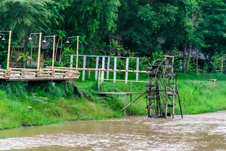 baler: turbine baler in river