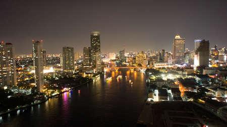 bangkok NIGHT: Bangkok Night Stock Photo