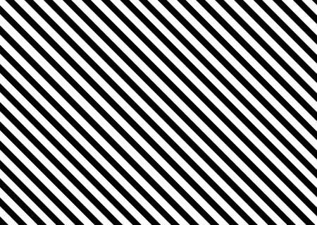 diagonal straight line black and white pattern design background Ilustración de vector