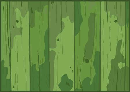 green wood texture background illustration vector