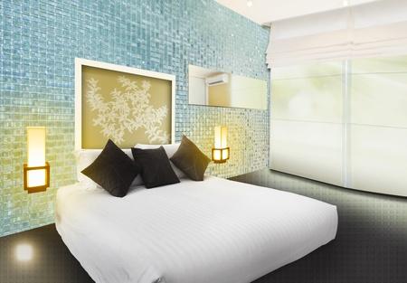 3D Luxury bedroom inter design Stock Photo - 11830650