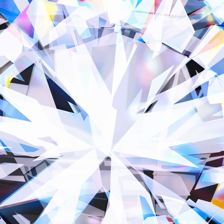 abstract background ,close up of brilliant diamond