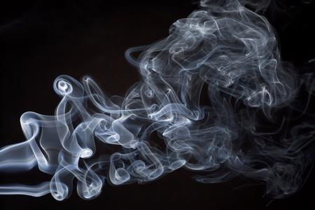 Abstract smoke photo