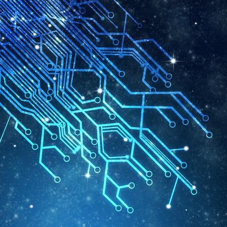 circuitos electronicos: la placa de circuito, la tecnolog�a de fondo