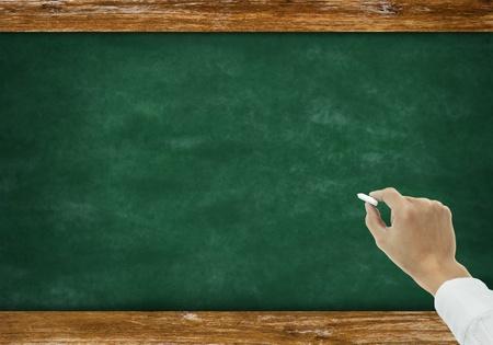chalkboard with copyspace Stock Photo - 11825284
