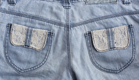 cloth back: jeans pocket