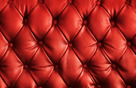 red chair: luxury red leather texture Stock Photo