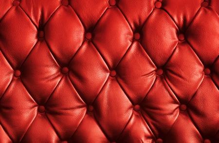 brown leather sofa: struttura di lusso in pelle rossa