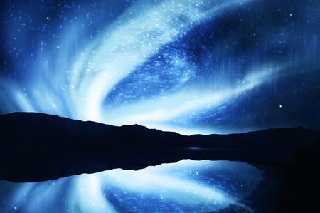 northern nature: northern lights ,aurora