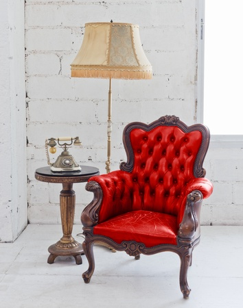 leather chair photo