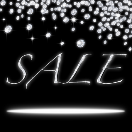 sales representative: sale icon ,design by diamonds