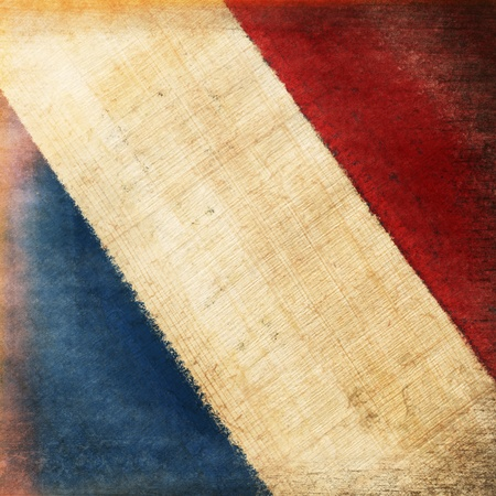 french flag: French flag drawing ,grunge and retro flag series