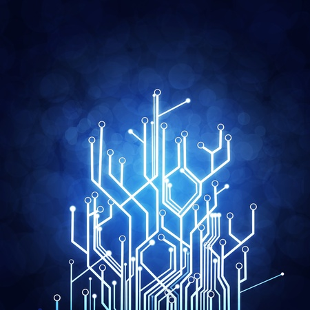 printed circuit board: circuit, fond la technologie