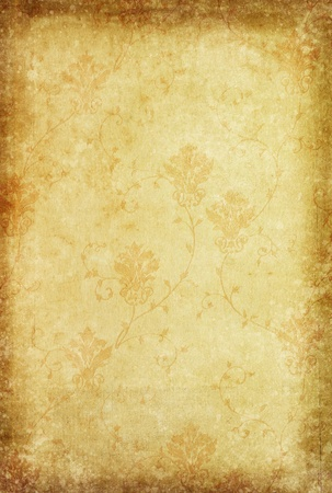 floral pattern classic and vintage wallpaper style Stock Photo - 12076897