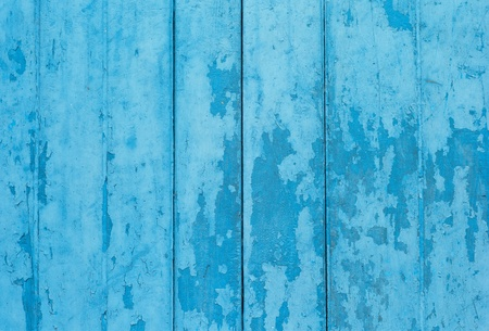 old grunge wooden door,blue color Stock Photo - 12536488