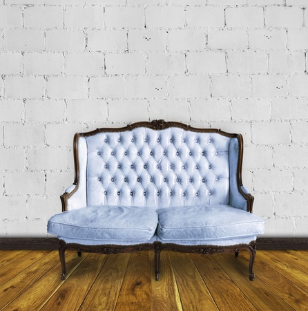 retro sofa in colorful room ,interior details Foto de archivo