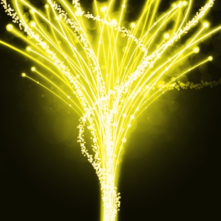 abstract of fiber optics, lighting effect and color glow