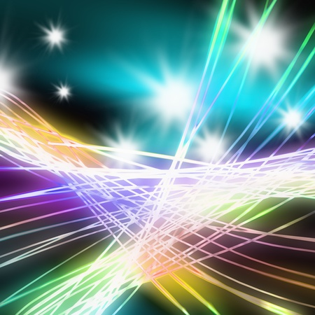 Abstract of stage concert lighting ,lighting and glow effect Stock Photo - 13170397