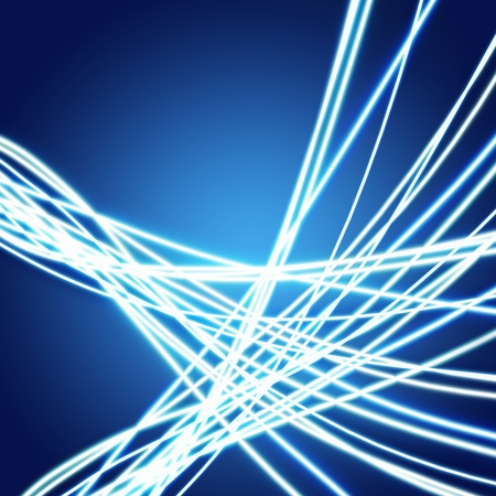 Abstract of weaving line ,lighting and glow effect Stock Photo - 13170389