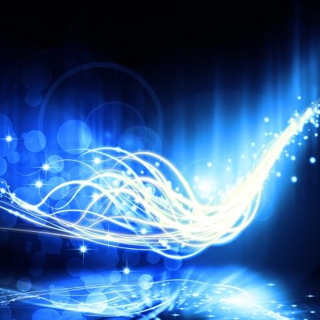 funken: abstrakte Lichteffekt, abstrakten Hintergrund