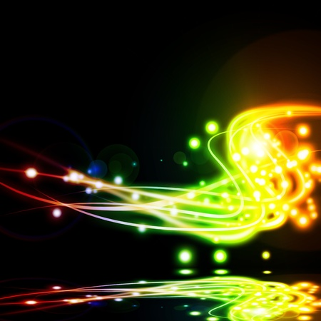 lighting effects: abstract lighting effect ,abstract background