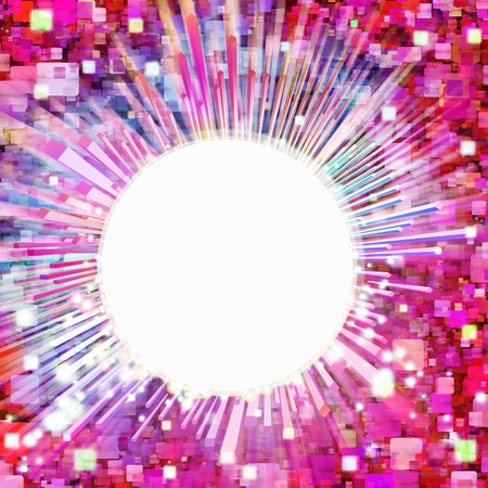abstract lighting effects and graphic design Stock Photo - 13414659