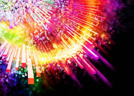 abstract lighting effects ,graphic and design Stock Photo - 13414654