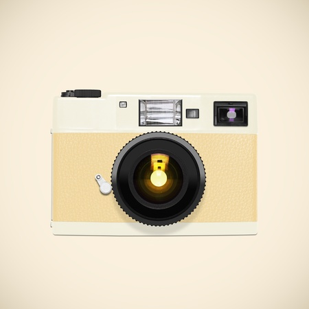 retro and vintage camera ,graphic design Stock Photo - 13540933
