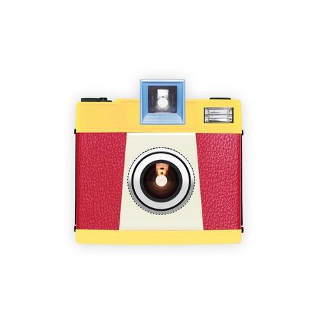 vintage camera: retro and vintage camera ,graphic design Stock Photo