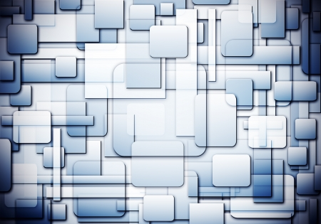 overlap: square shape pattern overlap ,Abstract background Stock Photo