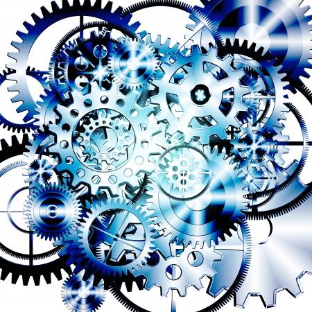 gears wheels design , industrial background Stock Photo - 13802866