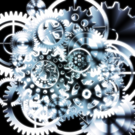 gears wheels design , industrial background photo