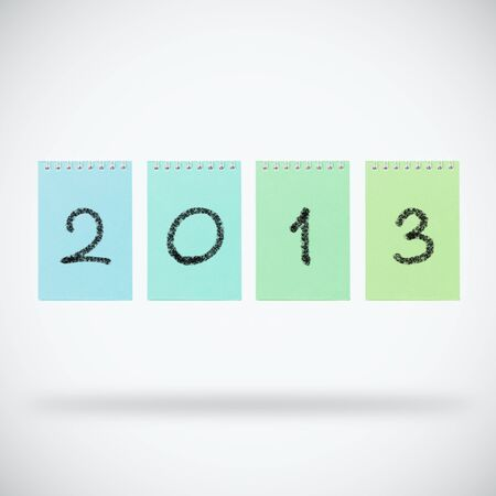 Happy new year 2013 design Stock Photo - 14188504