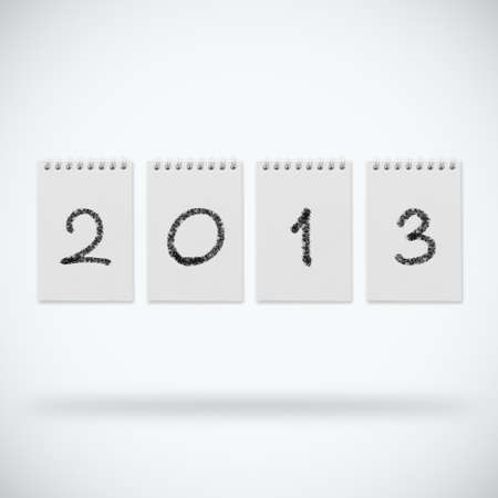 Happy new year 2013 design Stock Photo - 14188486