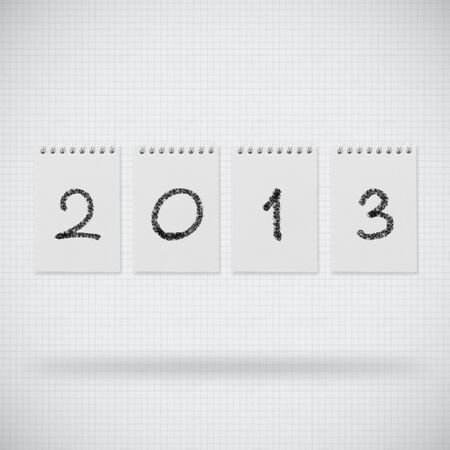 Happy new year 2013 design Stock Photo - 14188516