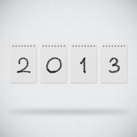 Happy new year 2013 design Stock Photo - 14188516