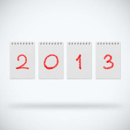 Happy new year 2013 design Stock Photo - 14188489