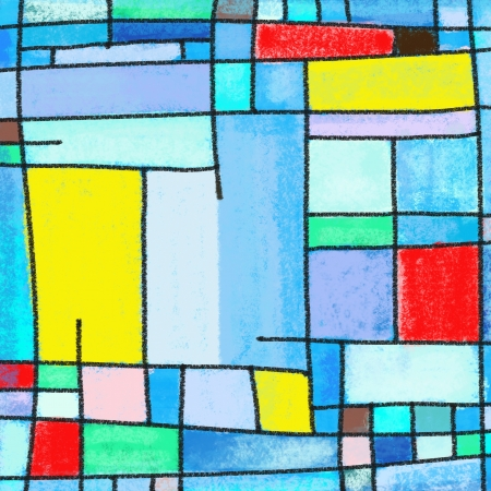 perpendicular: abstract geometric colorful pattern ,painting of multicolors square pattern