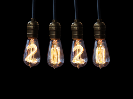 new year eve beads: light bulb,new year 2020