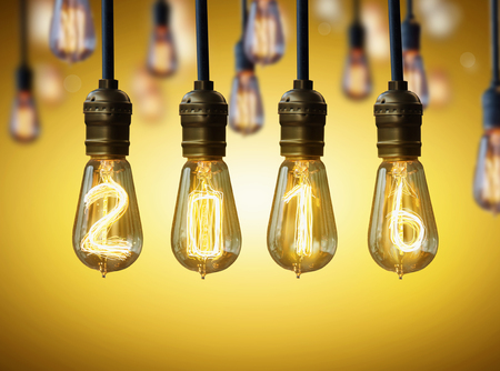 new year eve beads: light bulb,new year 2016