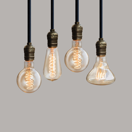 light bulb creative and design Stock Photo