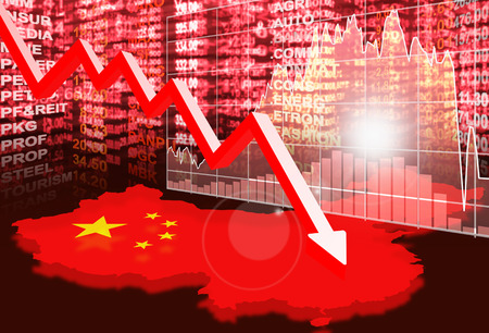 stock market concept ,crisis market